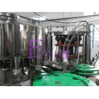 Cheap High Speed Beverage Juice Can Filling Machine , Automatic Can Sealing Equipment for sale