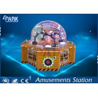 Cheap Four Players Amusement Game Machines , Children Crane Candy Game Coin Operated Vending Machine for sale