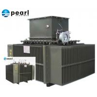 Cheap Overload 6.6 KV - 2000 KVA Oil Immersed Transformer Compact High Voltage for sale