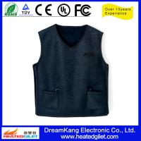 Cheap Mens Heated Vest made of fleece for sale