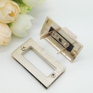 Cheap Light Gold Handbag Strap Hardware Metal Rotate Lock ROHS Certificate for sale
