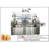 Cheap Automatic Linear Baby Food Paste Filling Machine With Servo Driven Pump for sale