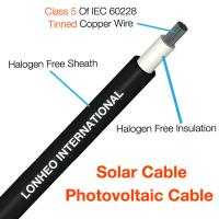 Cheap Photovoltaic Cable (Solar Cable) TUV Certificate  PV Cable PV1-F for sale