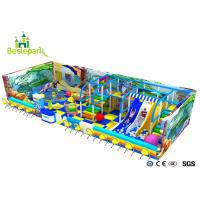 Cheap Ball Pool Baby Indoor Playground Colorful Theme With Customized Size for sale