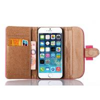 Cheap 3 Fold Elegant Flip Stand Leather Case Iphone 6 Case Genuine Leather for sale
