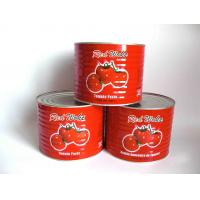 Cheap Sauce Product Type and Bulk,Can (Tinned),Drum,Sachet Packaging CANNED TOMATO paste brix 28-30% for sale