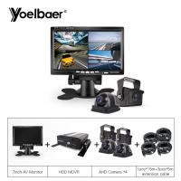 Cheap Customized DVR BUS Taxi Mobile CCTV Camera System Online Monitoring Accident Security for sale