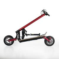 """Quality EcoRider max speed 40km/h 10"""" Folding 2000W 48V 10.4ah electric Scooter for wholesale"""