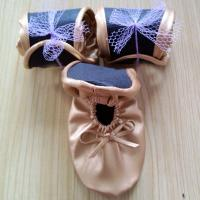 Cheap Ballet slipper style wedding shoes, ballet shoes to wear with wedding dress for sale