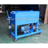 Cheap Steel Plate And Frame Lube Oil Purifier,Portable Cooking Oil Filtering Device,Particle Removal,Blue Color,3000L Per Hour for sale