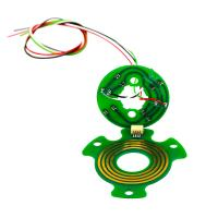Buy cheap Light 6mm Thickness Pancake Slip Rings with High Rotating Speed and Stable from wholesalers