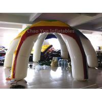 Cheap Customized Colorful 6 Legs Airtight Inflatable Tent with air pump for sale