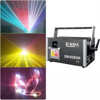 Cheap MINI 6W Analog Modulation RGB laser with SD Card,outdoor Rgb Laser Light with 30k-40K-50k Scanner for sale