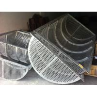 Cheap Uns S31254/1.4547/254smo/254 Smo/304/AISI 316 316L/1.4435 screen filters sieve baskets filter drums filter screen for sale