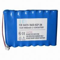 Cheap Lithium-ion Battery Pack with 4,400mAh Capacity for sale