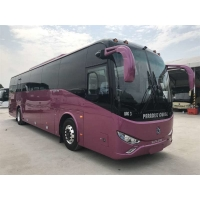 Cheap 2 Axle SLK6126 Max 120KM/H RHD 48 Seats Used Travel Bus for sale