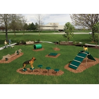 Buy cheap Dog Park Professional Anti Static Childrens Outdoor Toys from wholesalers