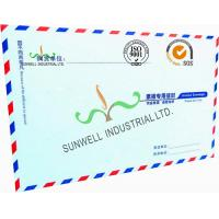 Cheap Offset Paper Custom Printed Business Return Envelopes With Multi Color Edge for sale