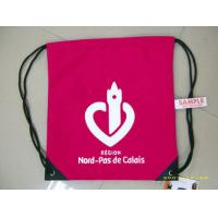 Buy cheap Customized Popular Nylon / Non Woven Drawstring Bags with rope for handle with from wholesalers