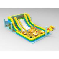 Buy cheap Newest Design Inflatable Slide Combos CE Approved Aqua Parks Inflatable Slides from wholesalers