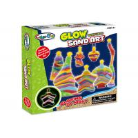 Cheap Educational DIY Glow Sand Arts And Crafts Toys / Children Learning Kits W / Bottles for sale