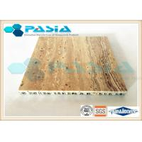 Cheap High Strength Honeycomb Stone Panels , Commercial Ceiling Panels Anticorrosive for sale