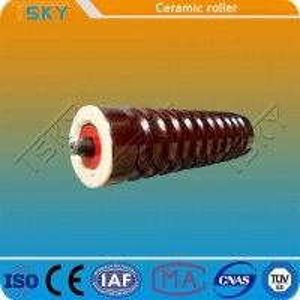 Cheap Strong Hardness Ceramic Conveyor Idler Roller for sale