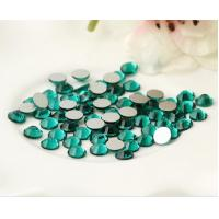 Cheap SS20 emerald rhinestone trimming preciosa jewelry preciosa glass rhinestone for sale