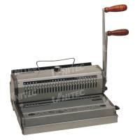 Cheap WB-2220 Wire Manual Binding Machine Two Handle Electric Punching Holes for sale