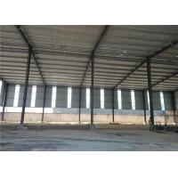 Cheap Construction Precoated Roofing Sheets Prefabricated Steel Frame Warehouse In Philippines for sale