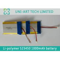 Buy cheap Best quality factory OEM li-polymer battery 523450 1000mAh for pos terminals and from wholesalers