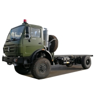 Cheap 4x4 6x6 Beiben Off Road Truck Chassis 290HP 420HP for sale