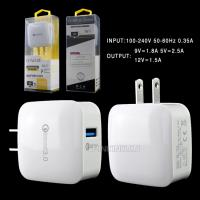 2.5A qc 3.0 wall charger, usb usa wall charger quick charge for iphone samsung mobile phone