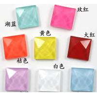 Cheap Wholesale loose neon color hot fix acrylic rhinestone 15mm for sale