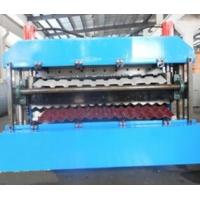 Buy cheap 18 Forming Stations Roof Panel Roll Forming Machine PLC For IBR / Corrugated from wholesalers