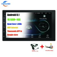 Cheap Dul Din Universal Car DVD Player / Android Universal Car Dvd Player Wifi Gps for sale