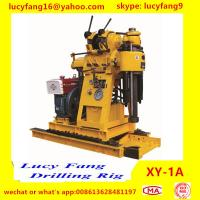 Cheap China Made Cheapest Popular Portable Soil Testing Drilling Rig XY-1A with SPT Equipment for sale