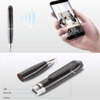 Cheap 720P WIFI Pen Hidden Spy Camera Covert Video Recorders P2P Cam Mini Spy pen camera  Mini pen camera  Mini Pen Sport DV for sale
