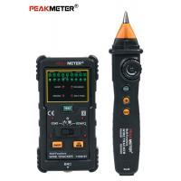 Cheap UTP And STP Cable Line Tester Electrical Wire Tracer High Precision Stable Performance for sale