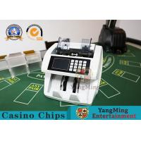 China 2 Pocket Value Bill Money Counter And Sorter Mixed Denomination Money Counter Bill Detector Machine on sale