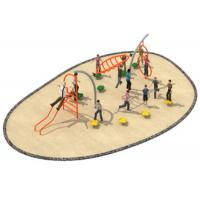 Cheap 780*300*250cm Rope Playground Equipment , Outdoor Rope Play Structures For Kindergarten for sale