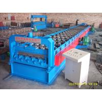 Cheap 720 Floor Deck Roll Forming Machine 15 KW Power and 400H Main Frame for sale