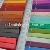 Cheap 0.8mm sofa Leather high quality black pvc leather 3D printing pu leather fabric for sale