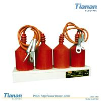 Buy cheap Fixed 3 - 110 KV Three Phase Surge Arrester / Composite Four Pole from wholesalers
