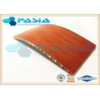 Cheap Wood Veneer Aluminium Honeycomb Ceiling Panels For Clean Room Weather Proof for sale