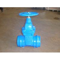 Cheap Socked End Gate Valve Factory &Carbon Steel with zinc plated for sale