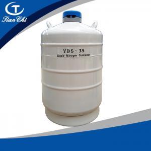 Cheap Tianchi Liquid nitrogen biological container YDS-35 Liquid nitrogen tank 35L Cryogenic vessel 35L50mm for sale