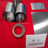 Cheap 99.95% RO5200,Ta1 ASTM B708-98  Tantalum Sheets  Tantalum plate for sale