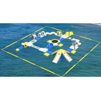 Buy cheap Adult Inflatable Water Play Equipment For Sea / Inflatable Water Park Design Build from wholesalers