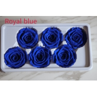 Cheap beautiful preserved rose flower A grade stabilized rose preserved long lasting eternal rose 4-5cm for sale
